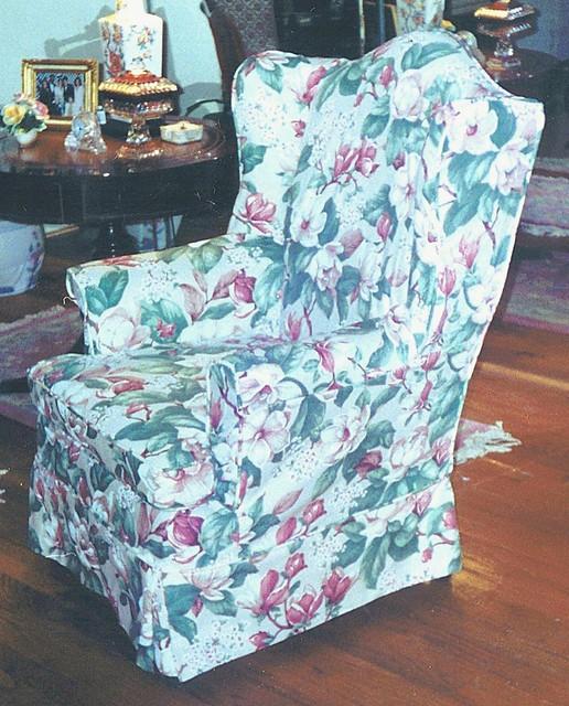 Sure Fit Cotton Duck Folding Chair Slipcover Linen