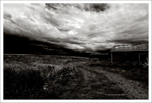 Bawdale Farm - The storm Cometh by Alan Norsworthy