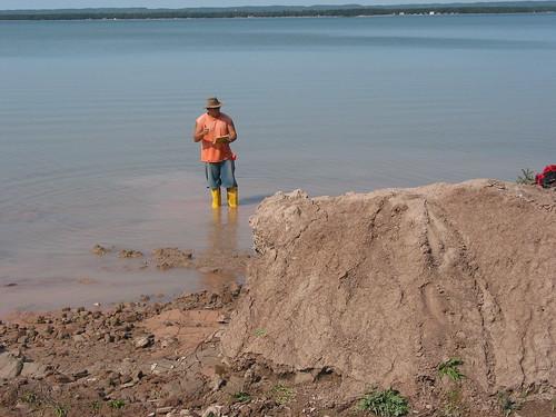 geology whitefishbay soo slump varves