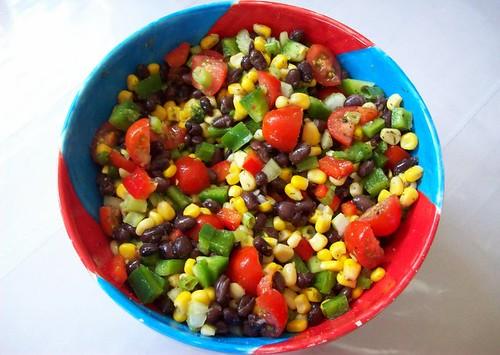 Vegan Black Bean Corn Salad