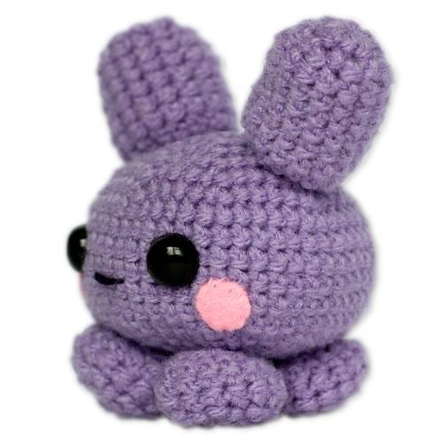 Amigurumi Purple Kawaii Bunny Flickr - Photo Sharing!
