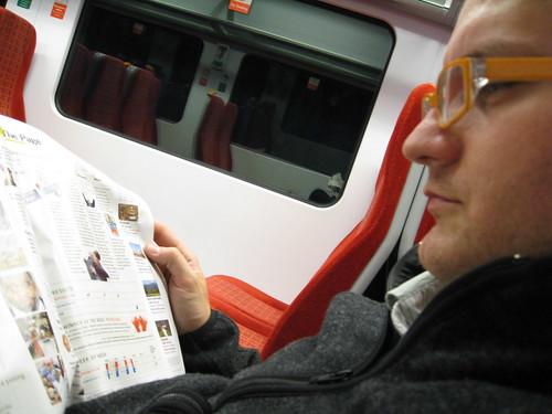 lire des magazines