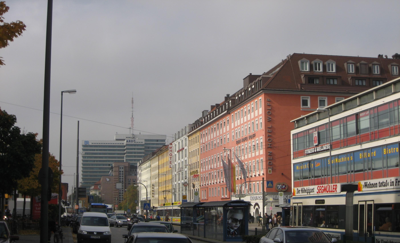 Eden Hotel Wolff Arnulfstrabe  Munchen