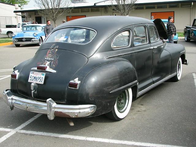 1947 dodge d24 4 door sedan 39 5smn950 39 04 a photo on for 1947 oldsmobile 4 door sedan