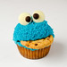 Cookie Monster Cupcake 1 by Nick^D