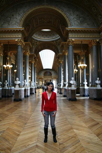 inside the huge palace of versailles flickr photo sharing. Black Bedroom Furniture Sets. Home Design Ideas