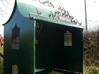 Lacey Green Golden Jubilee Bus-shelter