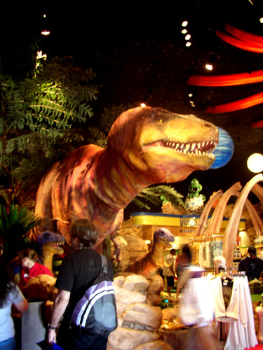 T rex restaurant flickr photo sharing for Restaurant t rex