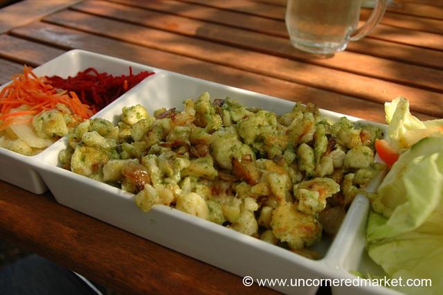 Austrian food spaetzle vienna austria flickr photo for Austrian cuisine vienna