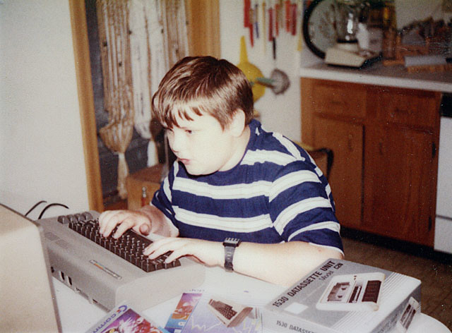 Fatty McStripeyshirt and the Commodore 64