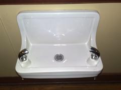 plumbing fixture, ceramic, lighting, sink,