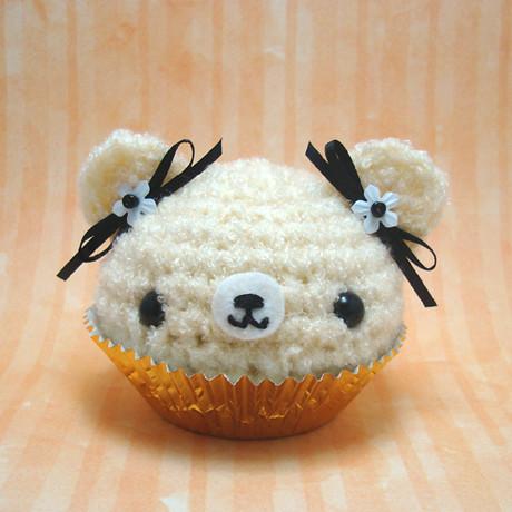 Amigurumi Vanilla bean cupcake bear Flickr - Photo Sharing!