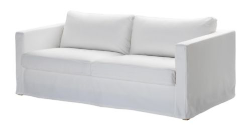 Magnificent Karlstad Sofa I Love The Floor Length Slipcover Anna Short Links Chair Design For Home Short Linksinfo