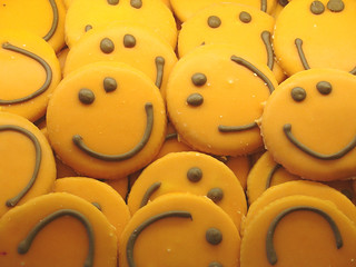 smiley cookies