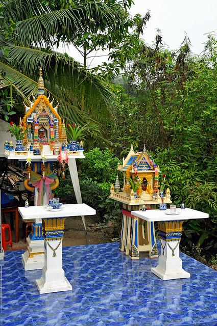 Thailand-3491B - Spirits live here.. (View Original)