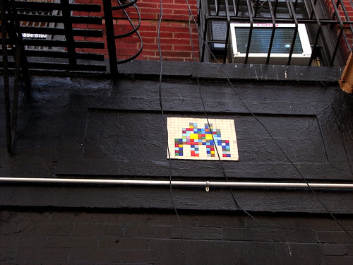 Space Invader in New York 2