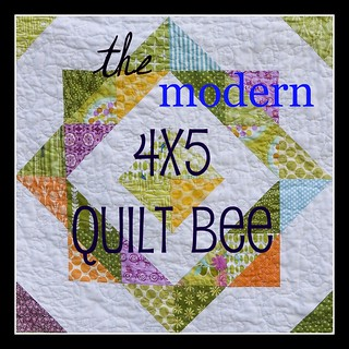 4x5 modern Quilt Bee Badge | by sukie80