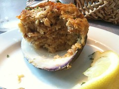Stuffed Quahog in Little Compton, RI