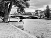 Paris, banks of the Seine, and lovers who are waiting for spring