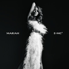 Mariah's E=MC² album cover (unofficial) (larger version)