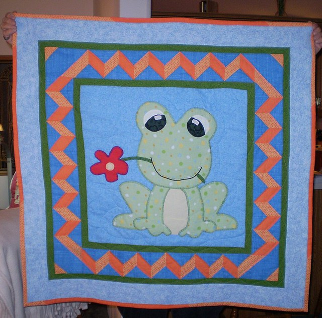 Frog Quilt: Flickr - Photo Sharing