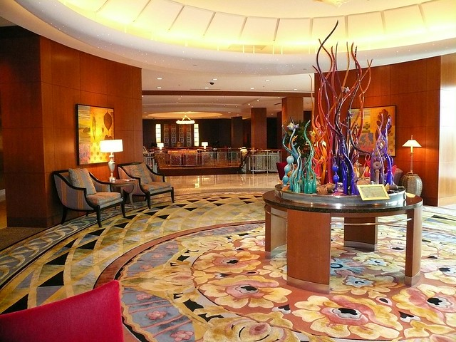 Hotel Lobby by Flickr user kathika
