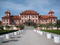 Le Château de Troja (en tchèque : zámek Troja ou trojský zámek) est une résidence d'été de style baroque construite pour les comtes Sternberg dans Troja, la banlieue nord-ouest de Prague. Il se situe sur les rives de la Vltava et jouxte le zoo de Prague. Ses jardins à la française comprennent une orangerie, un labyrinthe, de nombreuses fontaines et statues. Le château, propriété de la ville de Prague, est ouvert au public et présente les collections d'art tchèque du XIXe siècle de la Galerie municipale de Prague.
