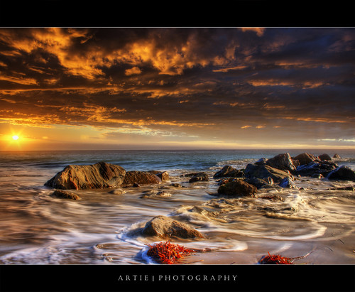 The Sea of Fire - HDR