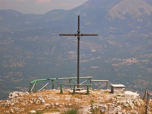 croce su monte Serra Pollino