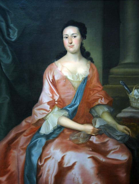 Portrait of Eunice Fitch, ca. 1760, Joseph Blackburn