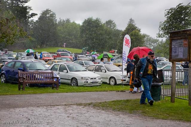 Gnoll Park Car Show
