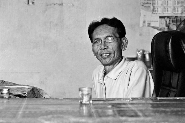 street restaurant owner - Bangkok, city of angels