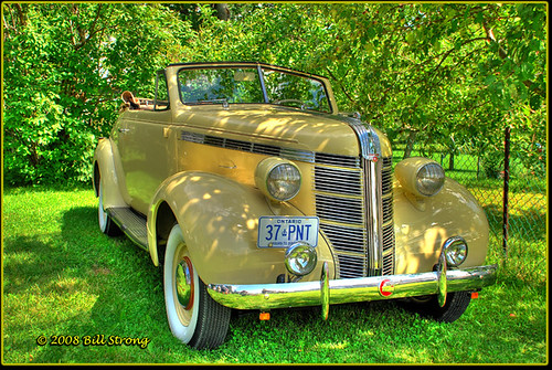 wow pontiac hdr 1937 cabriolet photomatix 3exp gmfyi autoglamma goldenhorseshoeantiquesociety