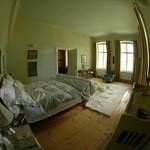 Master Bedroom in Fisheye - Bohemia, Czech Republic