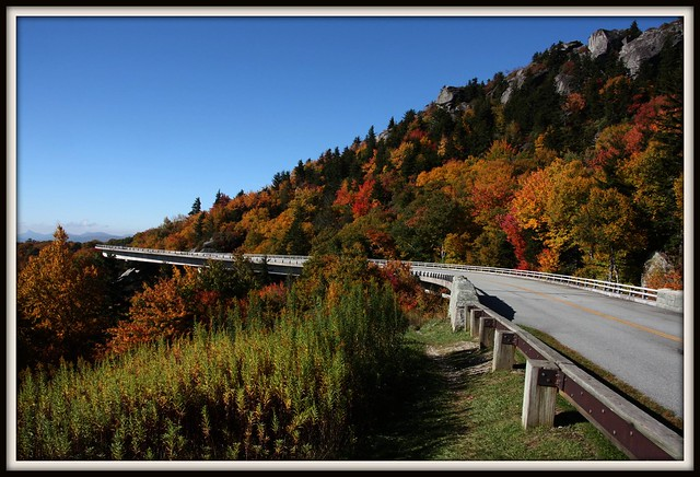 Five Favorites from the Blue Ridge Parkway - NC - The Linn Cove Viaduct