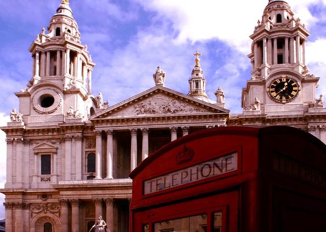 London Phone Box - London