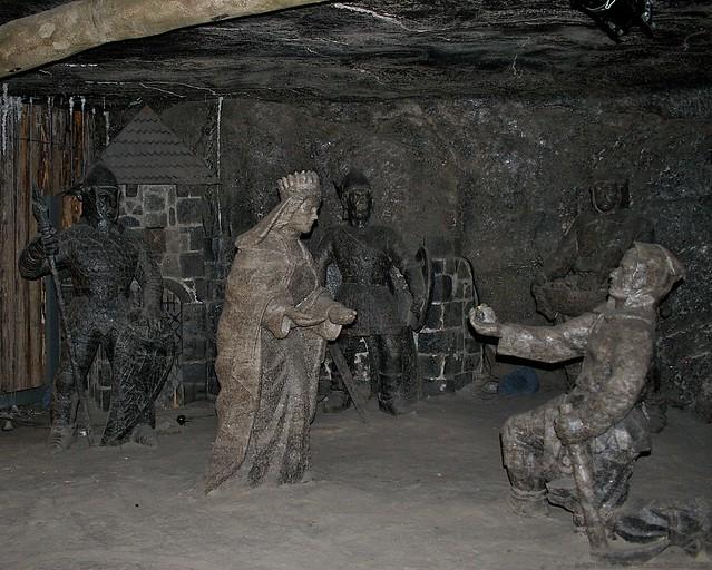 Wieliczka Salt Mine The Janowice Chamber
