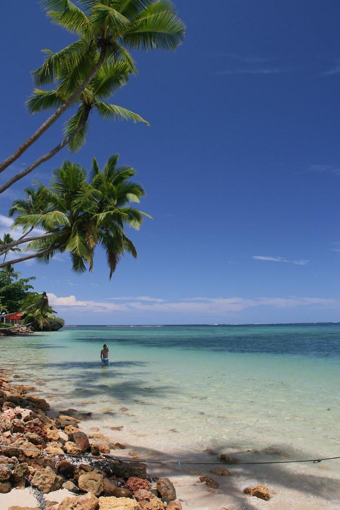 Coastline near Sigatoka, Fiji
