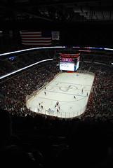 Hockey night at Verizon Center