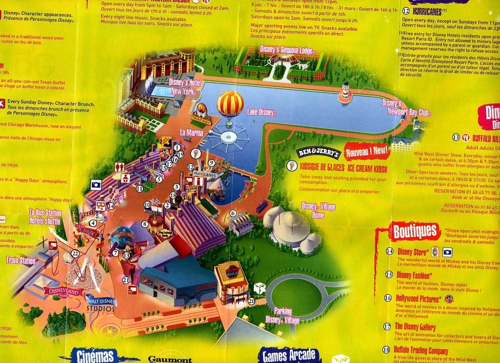 Disney Village Map Princess Cara Flickr