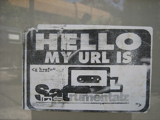 Hello, my URL is ...