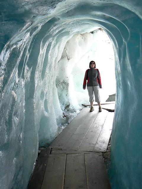 Rhonegletscher ( 2300m alt)  - Glacier du Rhône