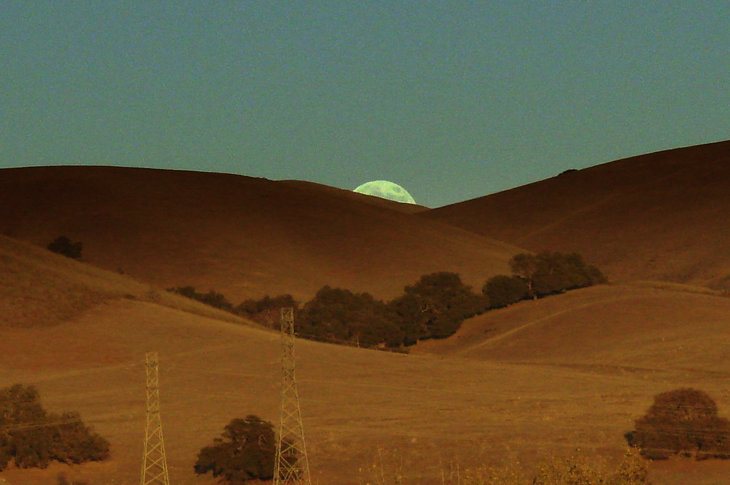 Moonrise Over Santa Teresa