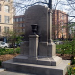 NYC - Brooklyn - Crown Heights: Dr. Ronald McNair Park - Joseph A. Guider Monument