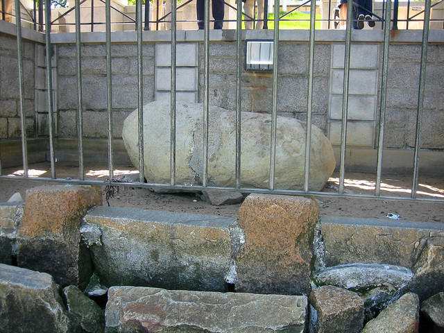Plymouth rock 19 flickr photo sharing for Landscaping rocks new plymouth