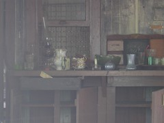 A rustic abandoned kitchen