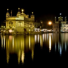 ASR. Golden Temple. Night Reflection 01