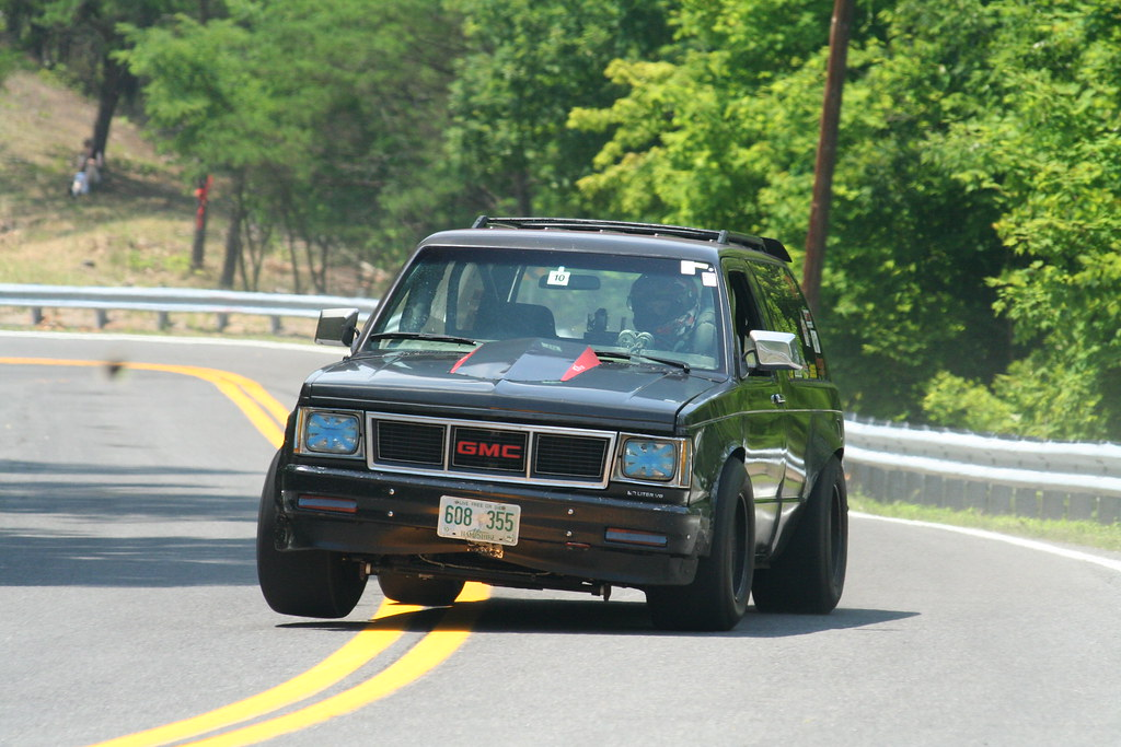 Crazy hillclimb vehicle grassroots motorsports forum for Motor vehicle open on saturday