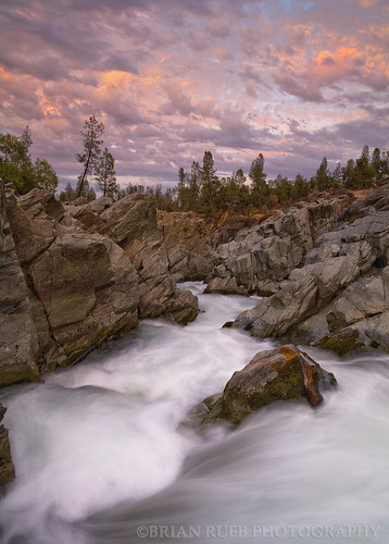 pink trees sunset orange nature water clouds landscape outdoors movement rocks searchthebest rapids waterblur purples visiongroup brianruebphotography vision100 cearcreek