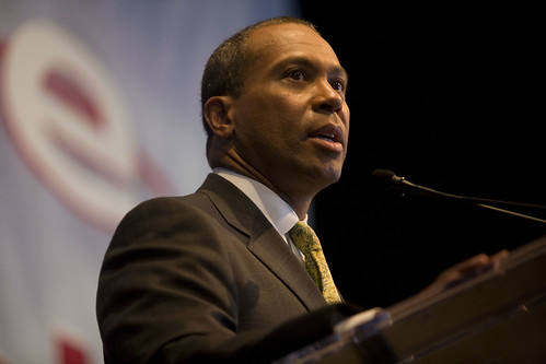 MA Governor Deval Patrick at the DNC